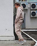 Спортивный костюм на флисе бежевый, фото 2