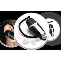 Компактный слуховой аппарат с усилителем звуков Ear Zoom черный., фото 1