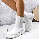 Ботинки женские Veneta белые деми 2371, фото 2