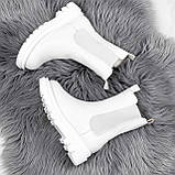 Ботинки женские Veneta белые деми 2371, фото 4