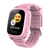 Детские умные часы ELARI KidPhone 2 Pink GPS (KP-2P) UA