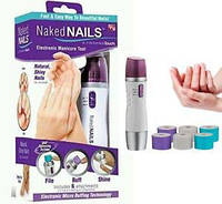 Прибор для полировки и шлифовки ногтей Naked Nails, фото 1