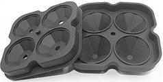Форма для льда силиконовая HLV 7303 Black