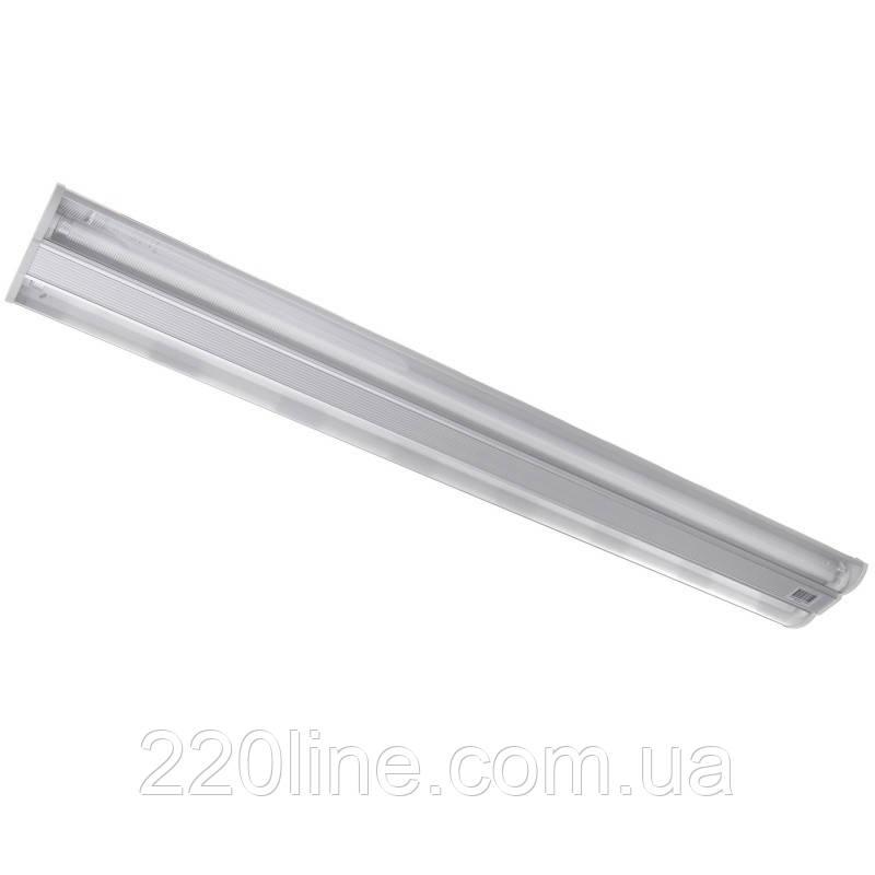 Люминесцентный светильник подвесной FLF-32/2x28 Br/L