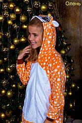 Кигуруми детские. Пижама кигуруми. Кигуруми для детей. Кигуруми олень. Кігурумі дитячі. Дитяча піжама