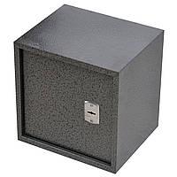 Сейф мебельный металлический для денег бумаг документов 50х50х40 см