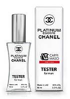 Тестер мужской  LUXE CLASS Chanel Egoiste Platinum, 60 мл.