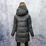 Жіноча зимова куртка Evacana E20W014M Жіноча зимова куртка великого розміру., фото 4