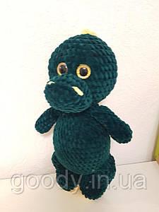 М'яка іграшка дракон із плюшевої пряжі 35 cm
