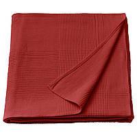 IKEA INDIRA Покрывало, красно-оранжевое (504.659.97), фото 1