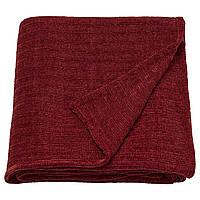 IKEA YLVALI Плед, коричневатый красный (104.473.21), фото 1