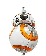 Воздушный фольгированный шар - фигура Робот BB8 из Звёздных Войн 78*47 см