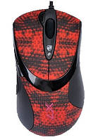 Мышь A4Tech F7 USB V-Track Красно-черная, КОД: 1901966