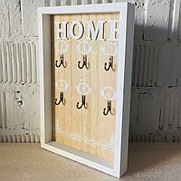 """Ключниця вішалка для ключів """"Home-Ornament"""" (30*20*3 див.)"""