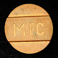 Телефонный жетон МТС, фото 1