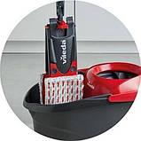 Набор для уборки Vileda Ultramat Turbo (швабра и ведро с отжимом) (4023103206236), фото 8