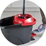 Набор для уборки Vileda Ultramat Turbo (швабра и ведро с отжимом) (4023103206236), фото 6