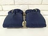 Рукавички-Муфта на коляску Ok Style Sport (Синий), фото 3