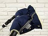 Рукавички-Муфта на коляску Ok Style Sport (Синий), фото 4