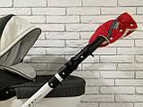 Рукавички-Муфта на коляску Ok Style Sport (Красный), фото 5