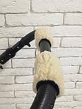 Рукавички-Муфта на коляску Ok Style Sport (Капучино), фото 7
