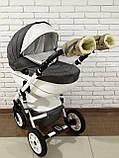 Рукавички-Муфта на коляску Ok Style Sport (Капучино), фото 6