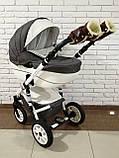 Рукавички-Муфта на коляску Ok Style Sport (Коричневый), фото 6