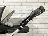 Рукавички-Муфта на коляску Ok Style Sport (Лен Серый), фото 5