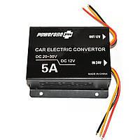 Инвертор PowerOne+ (24V-12V) 5A