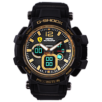 Часы мужские спортивные наручные  C-SHOCK GW-4500 Black-Gold, Box
