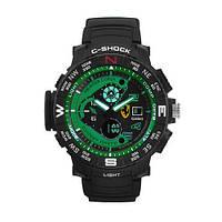 Часы мужские спортивные наручные  C-SHOCK  Ferrari Inter Corsa Black-Green, Box