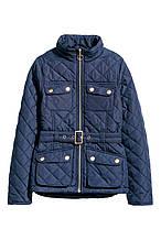 Куртка HM 134 см Темно-синий 76044817, КОД: 1636970