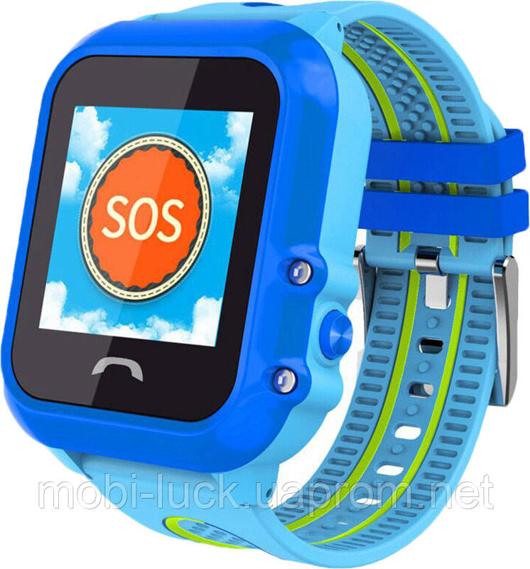Смарт-часы UWatch DF27 Kid waterproof smart watch Blue