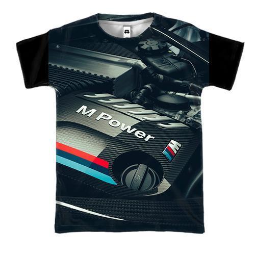 3D футболка BMW M-Power Inside