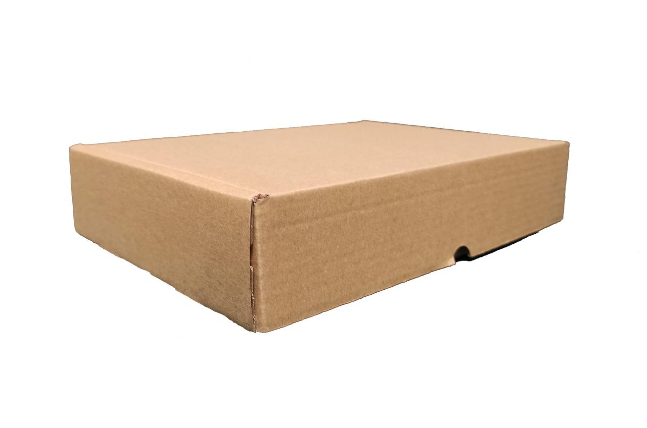 Коробка картонная самосборная бурая, 240*170*50 Т-22