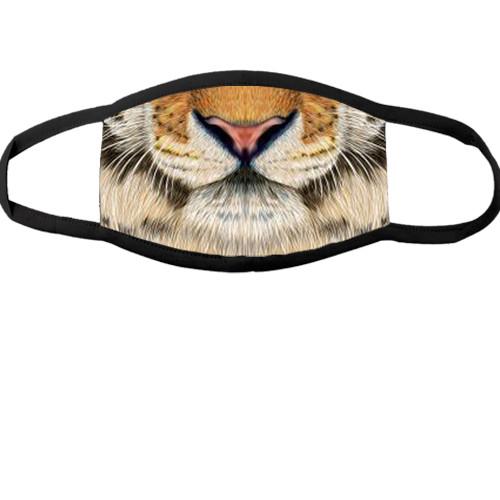 Багаторазова маска для обличчя Морда тигра