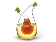 Бутылка 75/350 мл для масла и уксуса 2-в-1 (стекло)