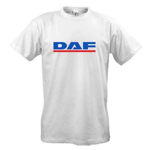 Футболка с лого DAF