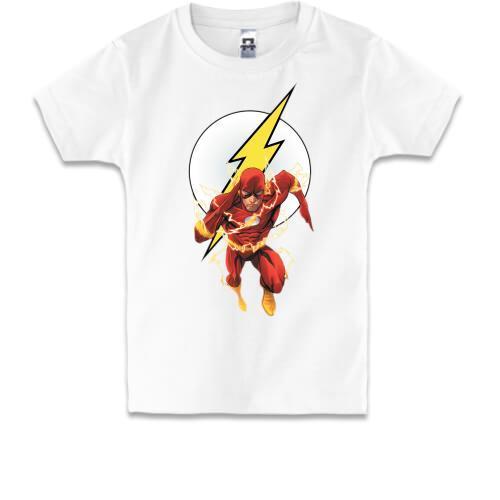 Детская футболка с флэшем