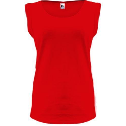 Женская красная футболка PANI