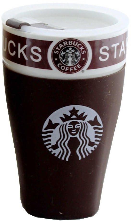 Чашка керамическая кружка Starbucks PY 023 Brown