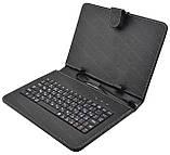 Чехол с русской клавиатурой для планшета 8'' Micro USB, фото 2
