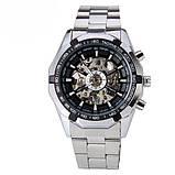 Водонепроницаемые мужские классические часы Winner TM340 с автоподзаводом (тех пакет), фото 2