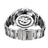 Водонепроницаемые мужские классические часы Winner TM340 с автоподзаводом (тех пакет), фото 3