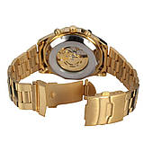 Водонепроницаемые мужские классические часы Winner TM340 с автоподзаводом (тех пакет), фото 7