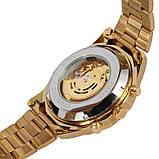 Водонепроницаемые мужские классические часы Winner TM340 с автоподзаводом (тех пакет), фото 8