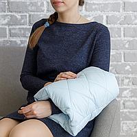 Подушка для кормления на руку, голубая MagBaby