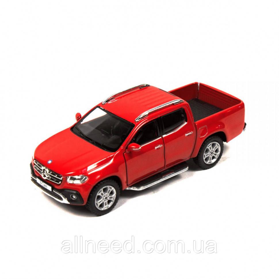 Машинка Kinsmart Mercedes-Benz X-Class пикап (Красный)