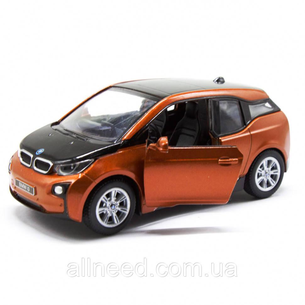 Машинка KINSMART електромобіль BMW i3 (Помаранчевий)