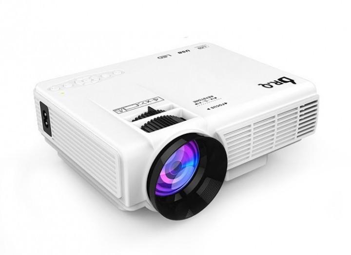 Мультимедийный LED проектор DR.Q HI-04 1800LUM (Android, WiFi) Б/У